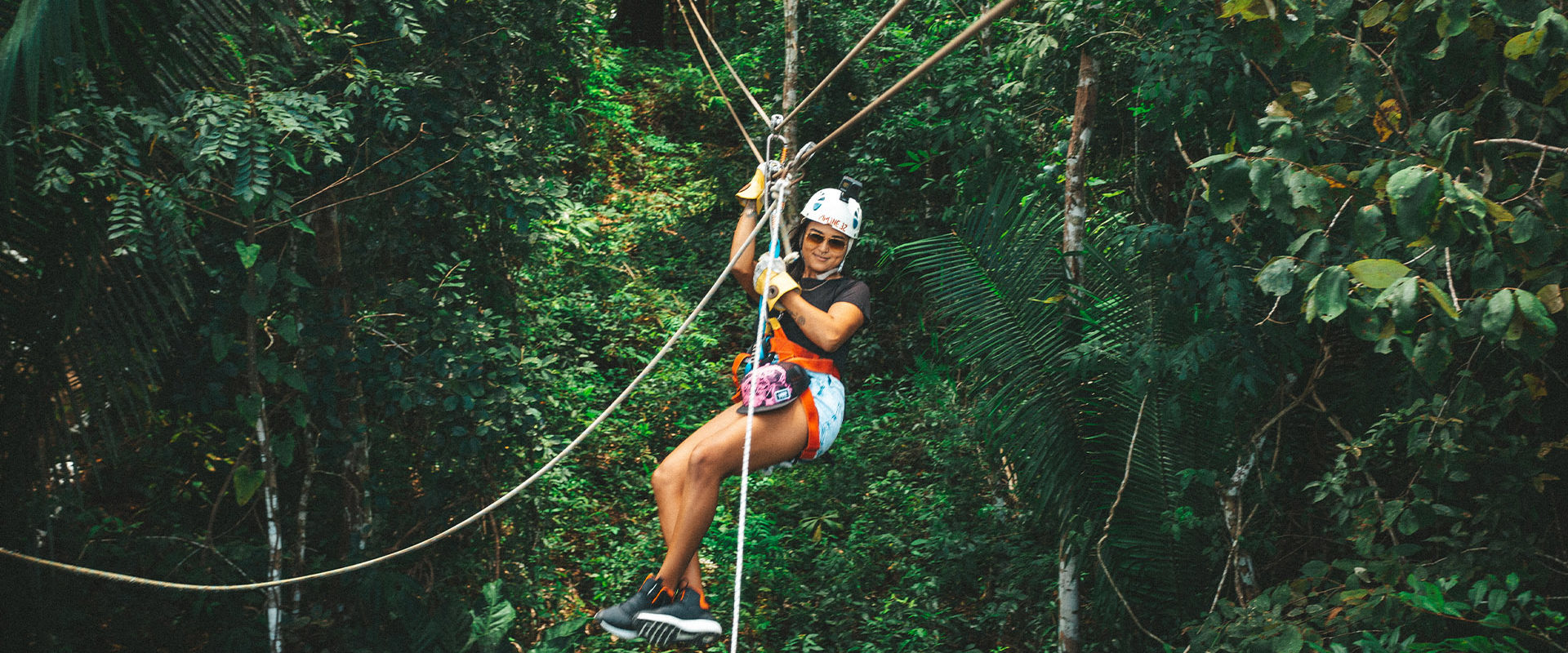 Cave Tubing and Zip Lining